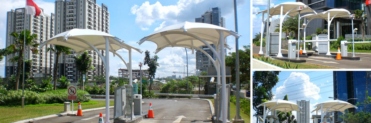 Car and vehicle Parking Tensile Structure in Pune