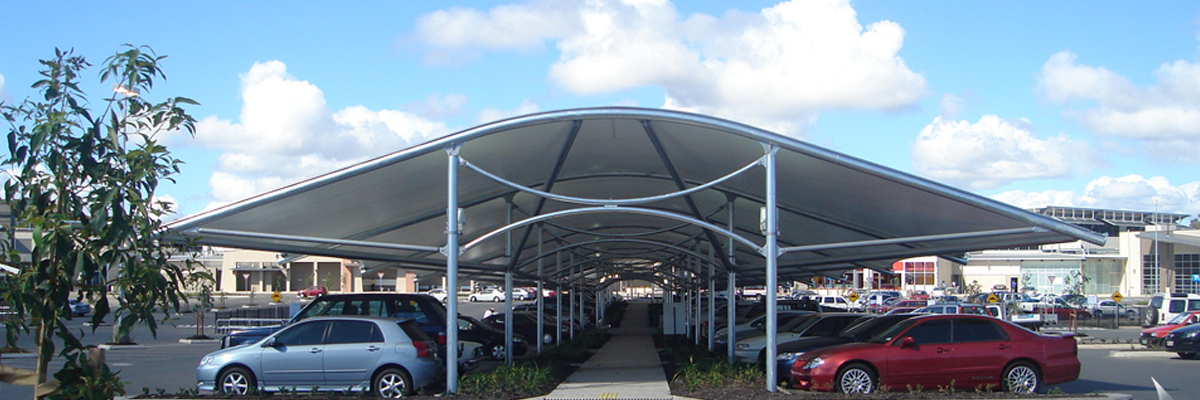 Tensile Car Parking Structure in Pune